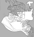 Ward 4 Street Map.